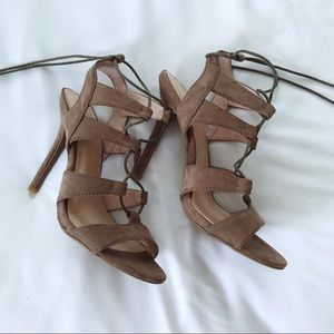 Forever 21 Lace- up Heels